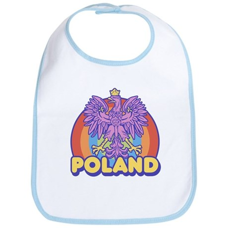 Retro 80's Poland Bib