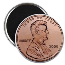 Lincoln Penny Magnet