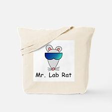 Mr. Lab Rat Tote Bag