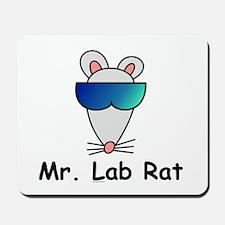 Mr. Lab Rat Mousepad