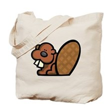 Cute Beaver Tote Bag