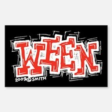 Ween Rectangle Decal