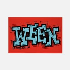 Ween Rectangle Magnet