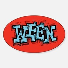Ween Oval Decal