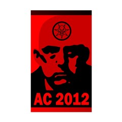 Aleister Crowley 2012 Sticker (Rectangle 50 pk)