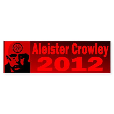 Aleister Crowley 2012 Sticker (Bumper 10 pk)