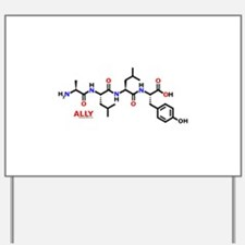 Ally molecularshirts.com Yard Sign