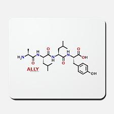 Ally molecularshirts.com Mousepad