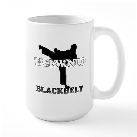TaeKwonDo Black Belt Large Mug