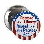 Restore Liberty Repeal The Patriot Act button