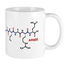 Amare name molecule Mug