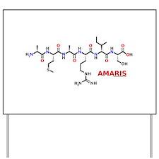 Amaris molecularshirts.com Yard Sign