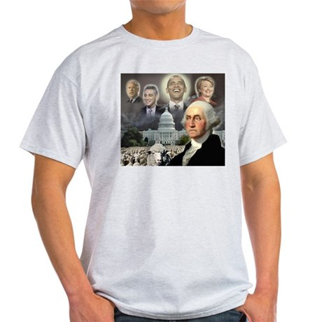 George Washington - Obama She Light T-Shirt