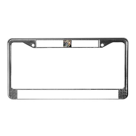 George Washington - Obama She License Plate Frame