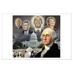 George Washington - Obama She Posters