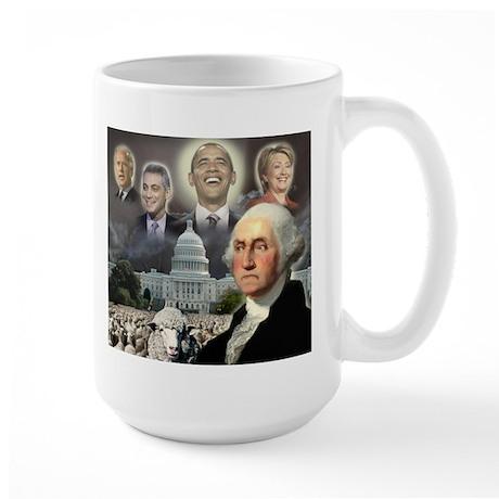 George Washington - Obama She Large Mug