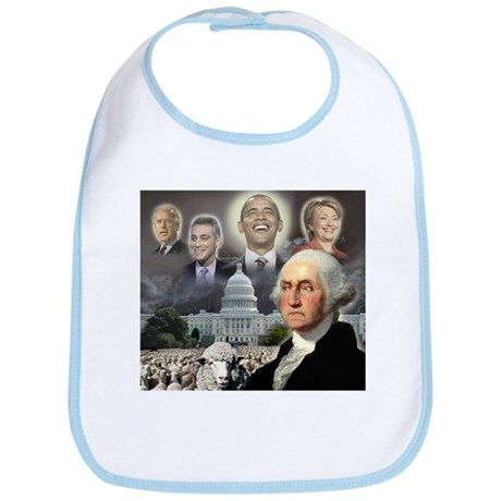 George Washington - Obama She Bib