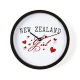 Maori Wall Clocks