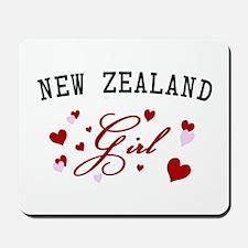 New Zealand Girl Mousepad