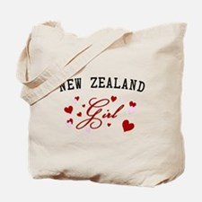 New Zealand Girl Tote Bag