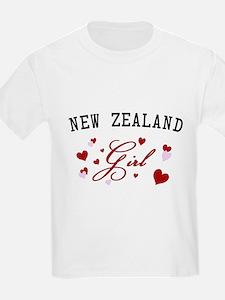New Zealand Girl T-Shirt