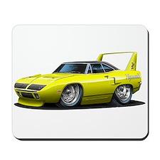 Superbird Yellow Car Mousepad