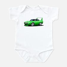 Superbird Green Car Infant Bodysuit