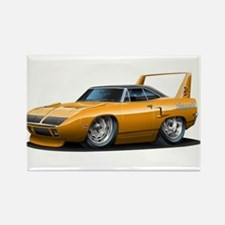 Superbird Orange Car Rectangle Magnet