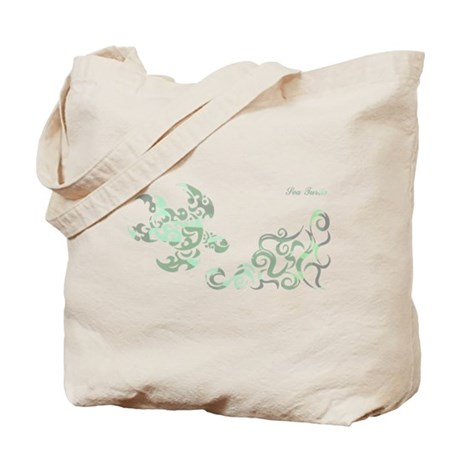 SEA TURTLE-WIDE(Camouflage) Tote Bag