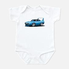 Superbird Blue Car Infant Bodysuit