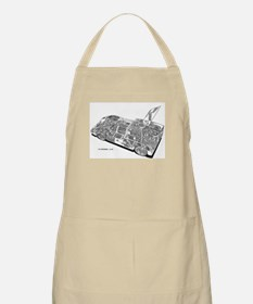 Chapperal J Ghost Rendering BBQ Apron