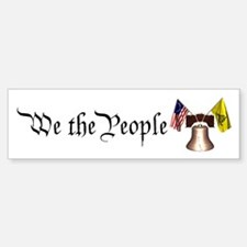 We the People - Liberty Bell, Bumper Bumper Bumper Sticker