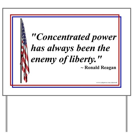 Reaganism 01 - Yard Sign