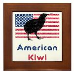 American Kiwi Framed Tile
