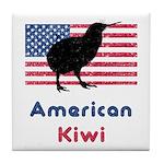 American Kiwi Tile Coaster