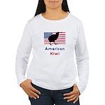 American Kiwi Women's Long Sleeve T-Shirt
