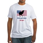 American Kiwi Fitted T-Shirt