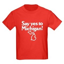Say Yes to Michigan T