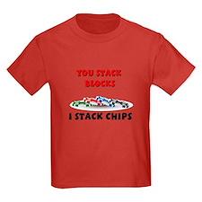Stellar I stack, you stack T
