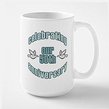 50th Wedding Doves Anniversary Mug