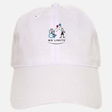 Kite Flying Girl Baseball Baseball Cap