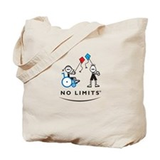 Kite Flying Girl Tote Bag