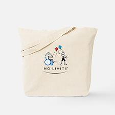 Kite Flying Girl Tote Bag