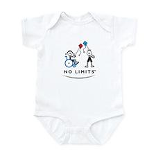 Kite Flying Girl Infant Bodysuit