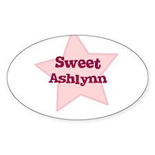 Sweet Ashlynn Oval Decal