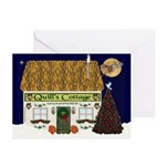 Quill's Cottage Christmas Cards (Pk of 20)