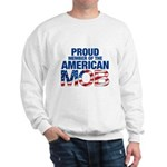 Proud Member American MOB Men's Sweatshirt