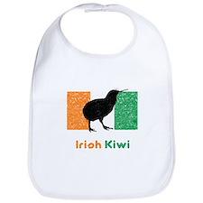 Irish Kiwi Vintage Flag Bib