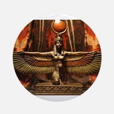 Goddess Isis Ornament (Round)