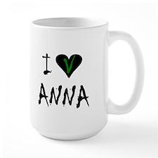 I LOVE ANNA SHIRT V TEE SHIRT Mug